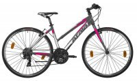 "Bicicletta Atala Ibrida Wellness North Black Lady 28"" 21V 2020"