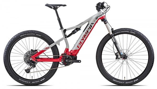 Bicicletta Olympia MTB Elettrica Gembo 27,5+ 625Wh 2020