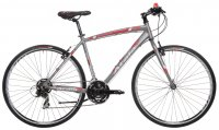 "Bicicletta Atala Ibrida Wellness North Black Man 28"" 21V 2016"