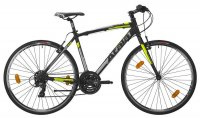 "Bicicletta Atala Ibrida Wellness North Black Man 28"" 21V 2020"
