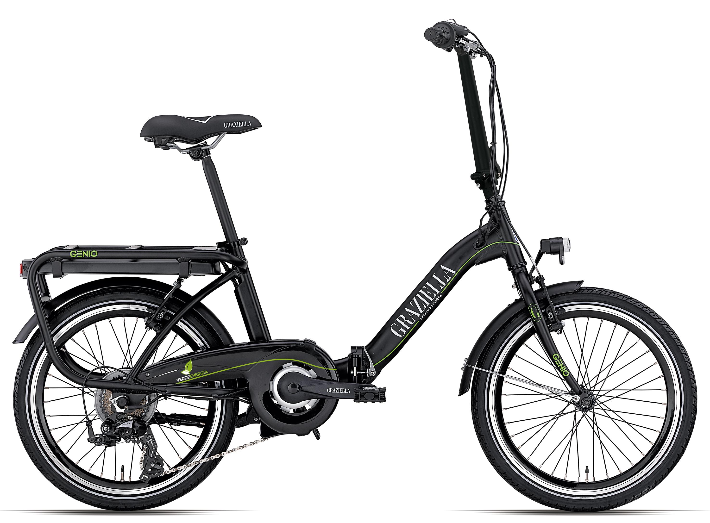 Bicicletta Pieghevole Graziella Genio Elettric 7s