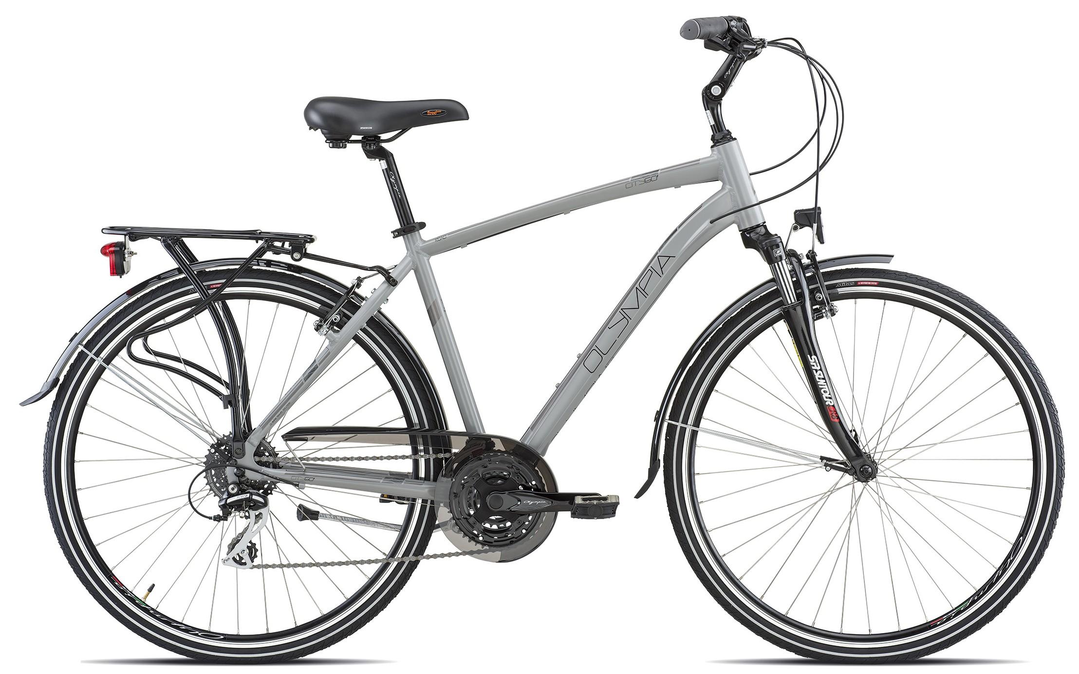 Bicicletta Olympia Trekking City Uomo Citygò 21v 2019
